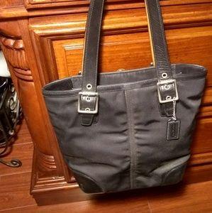 Coach purse,medium black